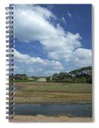 River Otter Estuary,  Budleigh Salterton, Devon, Southwest England, Uk Gb Spiral Notebook