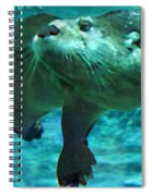 River Otter Spiral Notebook