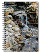 River Rock Of The Unknown Spiral Notebook