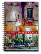 River Street Sweets Candy Store Savannah Georgia   Spiral Notebook