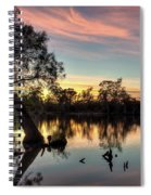 River Sunrise Spiral Notebook