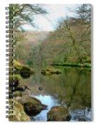 River Teign - P4a16010 Spiral Notebook