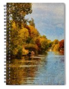 River Thames At Staines Spiral Notebook