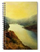 River Valley Sunrise Spiral Notebook