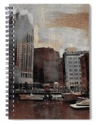 River View Aged Spiral Notebook