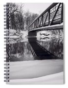 River View B And W Spiral Notebook