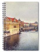 River Vltava Spiral Notebook