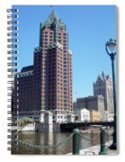 River Walk View Photo Spiral Notebook