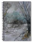 River Watercolor 711082 Spiral Notebook
