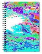 River Wave  Spiral Notebook