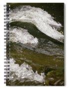 River Waves Spiral Notebook
