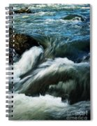 River With Rapids Spiral Notebook