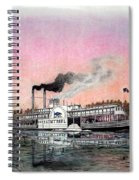 Riverboat Saint Paul Spiral Notebook