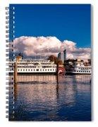 Riverboats Of Sacramento Spiral Notebook