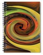 Eye Of Nature Spiral Notebook