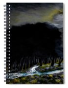 Riverside Tree Grove Spiral Notebook
