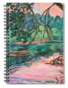 Riverview At Dusk Spiral Notebook