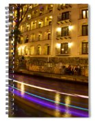 La Mansion Del Rio Riverwalk Christmas Spiral Notebook