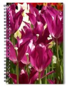 Riveting Tulip Of Joy Spiral Notebook