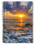 Riviera Beach Sunrise  Spiral Notebook
