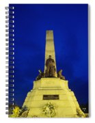 Rizal Monument Spiral Notebook