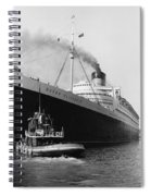 Rms Queen Elizabeth Spiral Notebook
