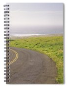Road Along The Coast, Point Reyes Spiral Notebook