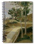 Road From Volterra Spiral Notebook