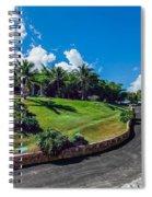 Road In Park Spiral Notebook