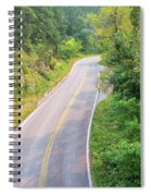 Road In The Black Hills Spiral Notebook