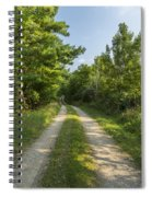 Road In Woods 1 F Spiral Notebook