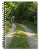Road In Woods 1 H Windy Spiral Notebook