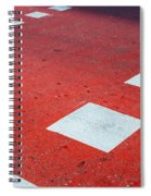 Road Markings Spiral Notebook