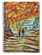 Road Of Life  Fine Art Spiral Notebook
