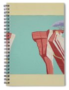 Road Runner Back Drop Spiral Notebook