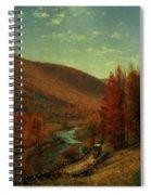 Road Through Belvedere Spiral Notebook