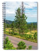 Road Through Custer State Park Spiral Notebook