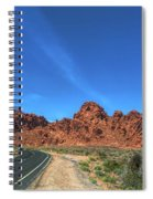 Road Through Valley Of Fire  Spiral Notebook