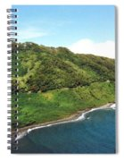 Road To Hana Spiral Notebook