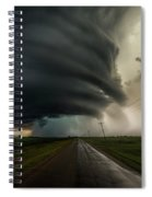 Road To Mesocyclone Spiral Notebook