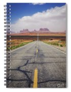 Road To Monument Valley Spiral Notebook