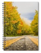 Road To Mt. Mitchell Spiral Notebook
