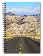 Road To Owl Creek Mountains Wyoming Spiral Notebook