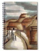Road To Petra Spiral Notebook