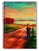Road To Red Gables Spiral Notebook
