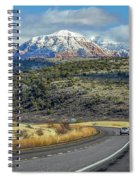 Road To Sedona Spiral Notebook