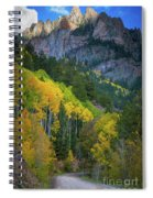 Road To Silver Mountain Spiral Notebook