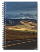 Road To The Blue's Spiral Notebook
