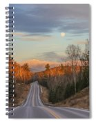 Road To The Moon Spiral Notebook