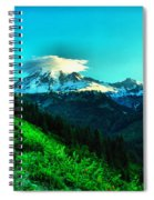 Road To The Mountain  Spiral Notebook